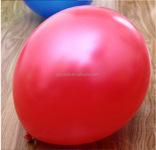 small helium balloons with various of colours and sizes