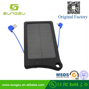2016 cargador solar energy power bank,cargador portable 8000mAh