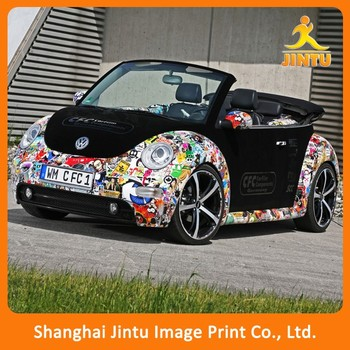 Custom 3m car sticker uv printing vinyl car stickers car decal printing jtamy