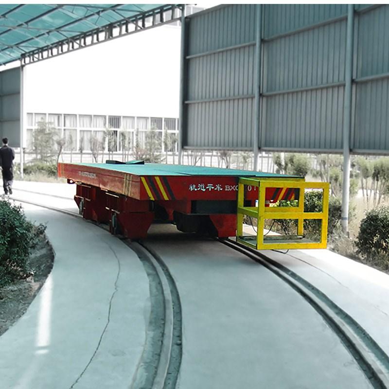 Production of customized battery electric flatbed cart rail ground translation vehicle