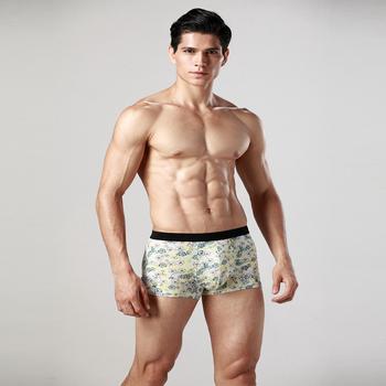 High Quality Flexible Under Boxer Briefs Sexy Men Underwear