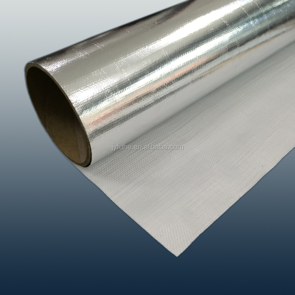 Single side aluminum thermal reflective foil insulation