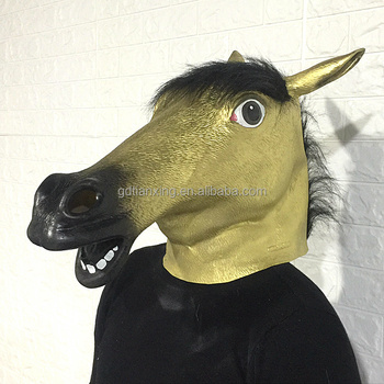 Long History Factory Horse Mask For Sale