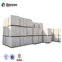 precast silica sand lime cement fly ash concrete AAC blocks