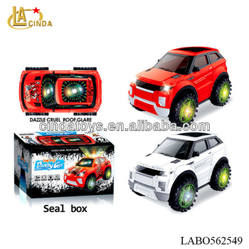 Land Rover Toys Bo Car With Headlights Music With Light Emulational