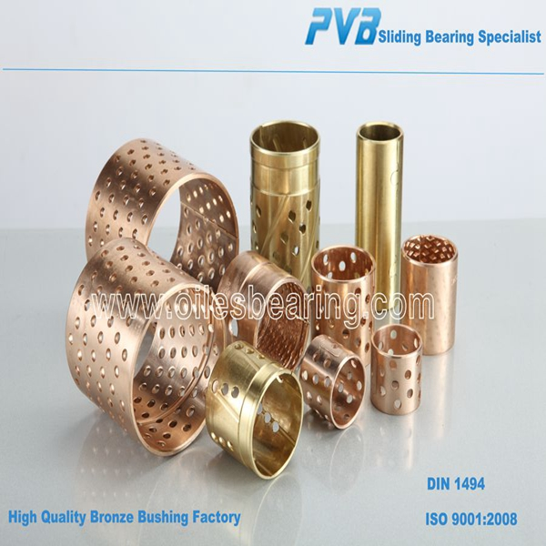 CuSn6 Wrapped Bush, WB700 Bronze Bushing, FB090 bronze sliding bearing