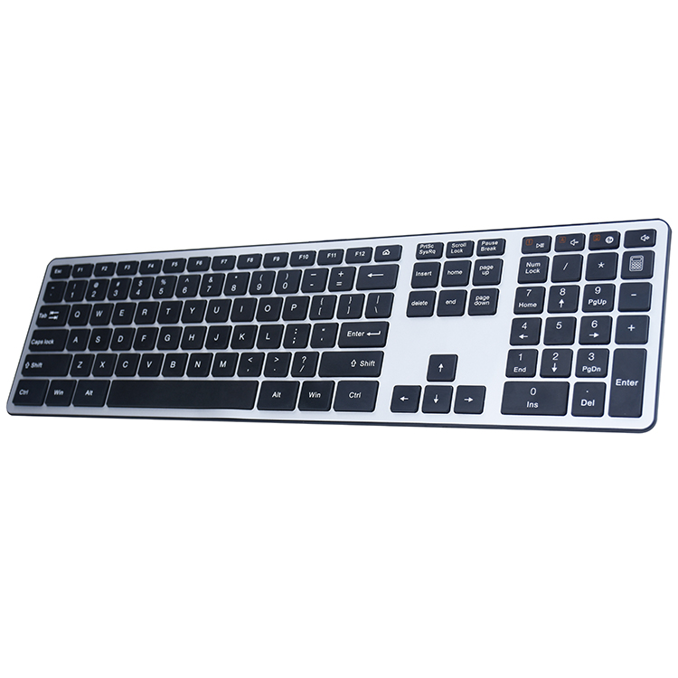 Cheap RF Ergonomic Wireless Flexible Russian Keyboard With USB Driver