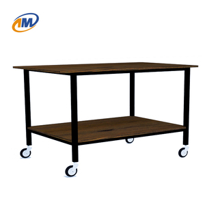 Fashion Metal Steel Dining Car with Plywood