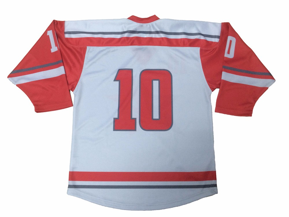 Wholesale factory direct supplier love couple pink ice hockey jersey
