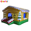 Winter Chalet inflatable jumping house, inflatable moonwalk