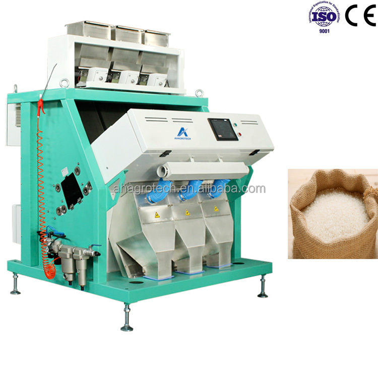 Optical infrared Technology ccd camera X-ray based color sorter for lentils chickpeas and beans