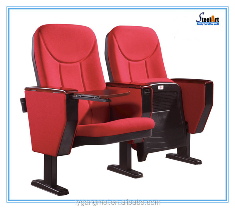 Factory direct cheap folding fabric wholesale theater seats