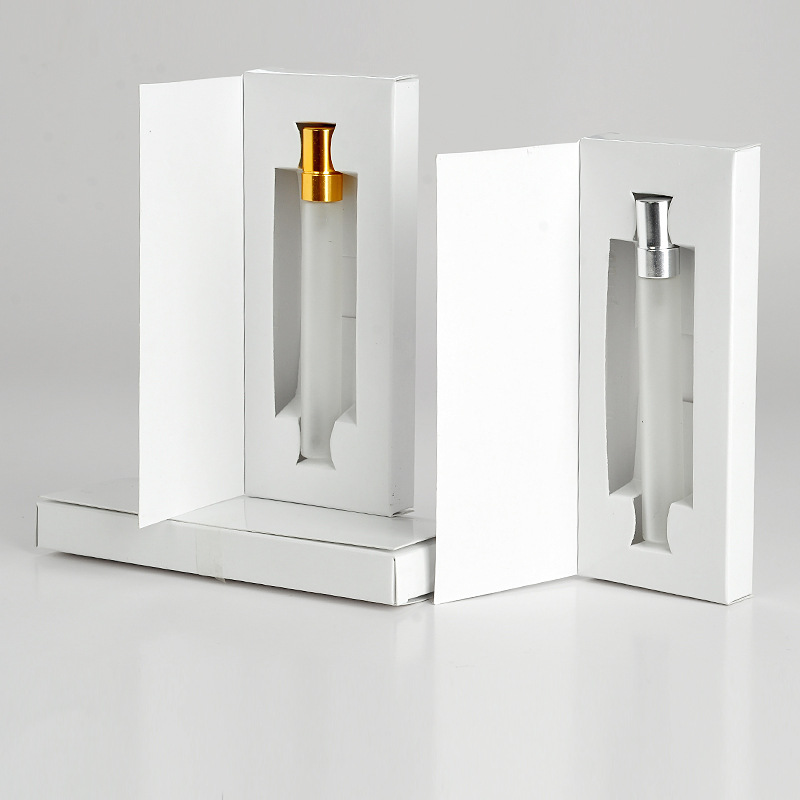 Wholesale 5ml 10ml Portable Refill Perfume Spray Glass Bottle With Paper Box Package