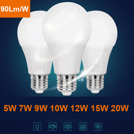 Very low price for component parts plastic 7w LED bulb lighting