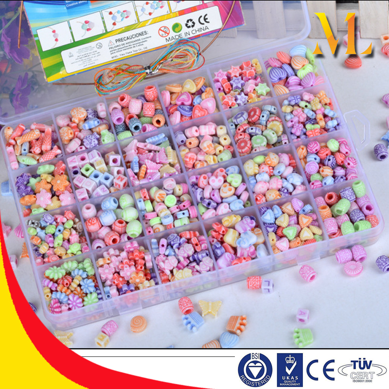 MLB05B DIY fun toys Perfect Jewelry maker plastic christmas candy beads