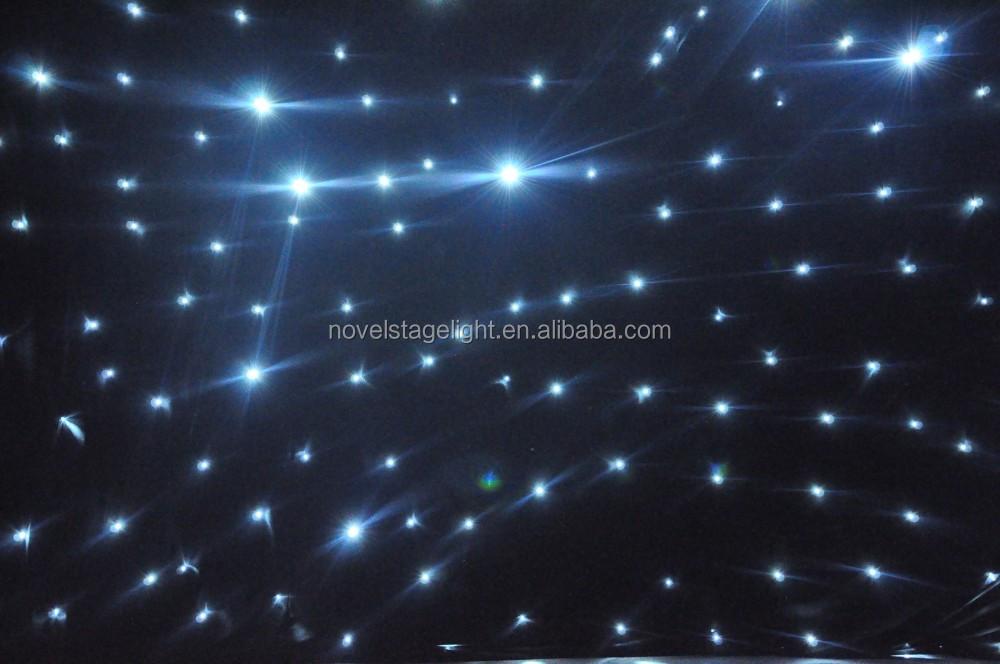 Hi-cool Ster Zwart Doek Verlichting/led Ster Lichteffecten/rood ...