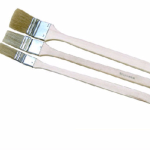White Bristle Long Wooden Handle Angle Radiator Paint Brush Manufacturer