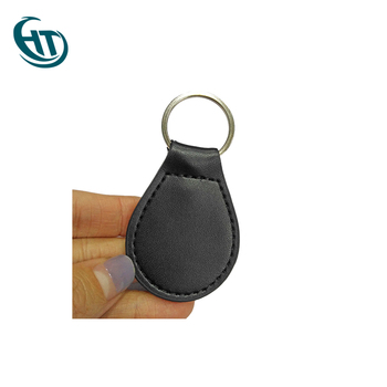 Wholesale Black Colorful Logo Embossed Leather Keychain Wholesale,Custom Metal Keychain Metal Custom Logo