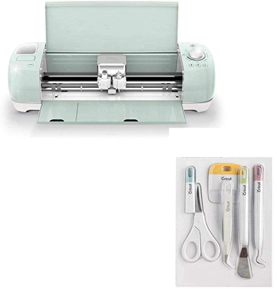 Get Quotations · Bundle Includes 3 Items - Cricut Explore Air 2 Machine and  Cricut Tools Craft Basic Set
