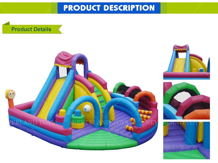 Funcity Hot Sale Inflatable Fun City Animal Jumping Banners Bouncy Bounce Castle Inflatable For Kids