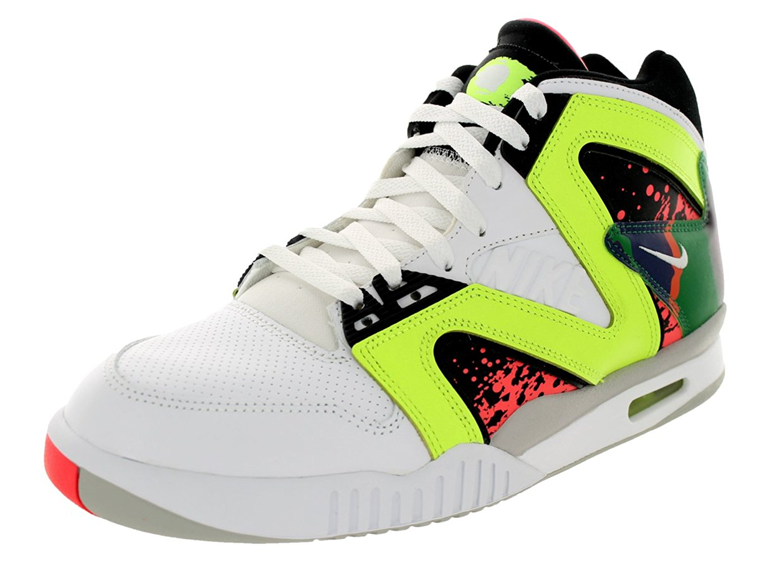 919a5262f0e Get Quotations · nike air tech challenge hybrid mens hi top trainers 653873  sneakers shoes