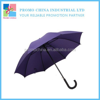 Customized 23inch Auto-Open Straight Promotion Umbrella