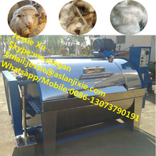 15kg to 400kg per hour industrial washing machine/dirty raw wool washing machine/textile washing machine