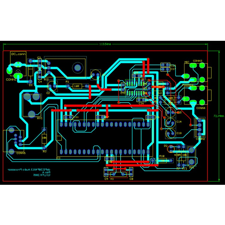Electronics Pcb Schematic Diagram Gerber Files Bom List
