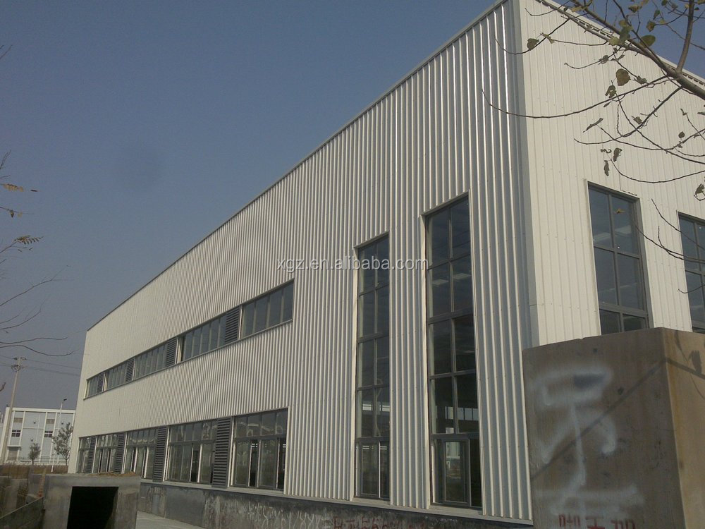 Waterproof Storage Shed China Prefabricated Warehouse Light Steel Warehouse Structure