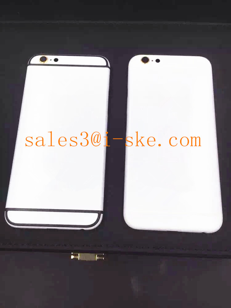 For Iphone 6 6 Plus Luxury Housing In White,Matte White Housing ...