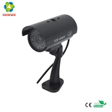 New Wireless Waterproof IR LED Surveillance CCTV Security Fake dummy security camera with IR LED Blinking Light
