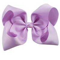 Wholesale Large Ribbon Hair Bow for Girls, 8 Inch Jojo Hair Bow With Clip