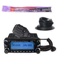 NEWEST ZASTONE ZT-D9000 50w repeater function base station tri band mobile radio hf transceiver