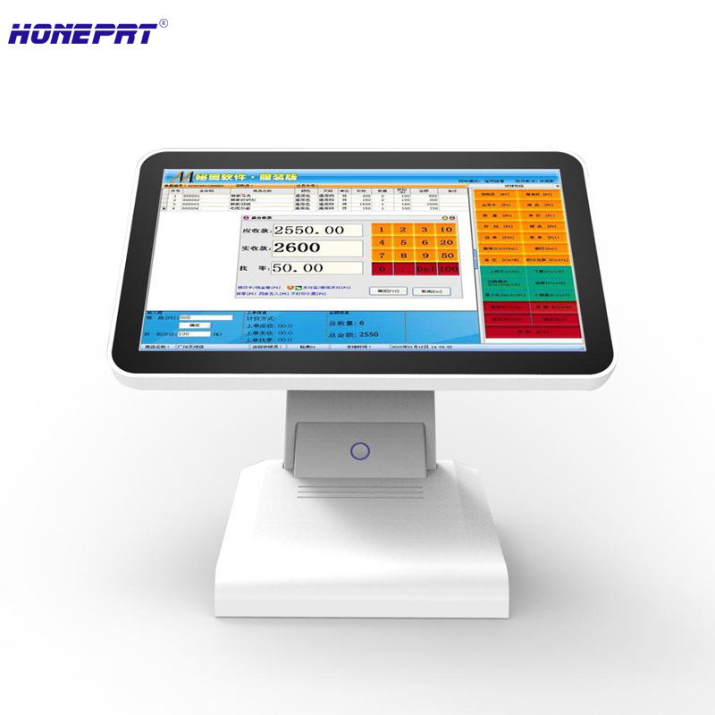 "New POS White 15"" inch Touch Screen Monitor LCD VGA"