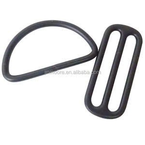 MDR22 50mm Center Bar Slide Purse Strap Slider Buckle D Loop Ring Set
