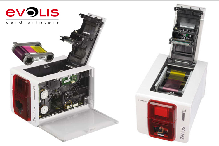 Authorized seller evolis zenius single sided plastic card printing authorized seller evolis zenius single sided plastic card printing machine 300dpi 10 to 30 mil business reheart Images