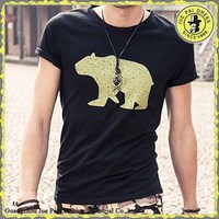 Latest Shirt Designs For Men 2016,Wholesale Custom 95% Cotton 5% Spandex Men Fashion T Shirt