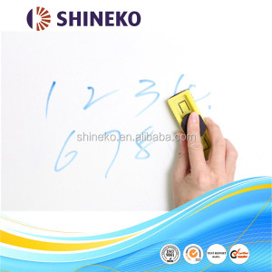 Removable whiteboard pvc film writable sticker paper sheet/roll manufacture