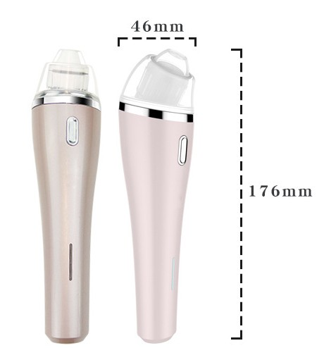 BP-W1705 blackheads acne suction remover Facial Vacuum Suction beauty device