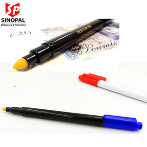 Factory Hot Sell Cheap Cost Customized Counterfeit Money Pen for Universal Banknote