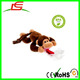 Hospital recommended squeaky plush soothis animals monkey pacifier