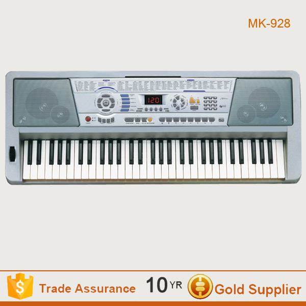 Hot selling sliver price piano keyboard, electric keyboard