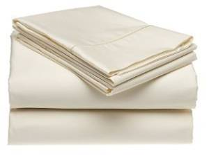 Bonne Nuit 400 Thread Count Hotel Collection Luxury Bedding Bed Sheets - Bestseller- Super Sale 100% Egyptian Cotton Sateen - Wrinkle Resistant Sheet Set-Queen Size Solid Ivory Color
