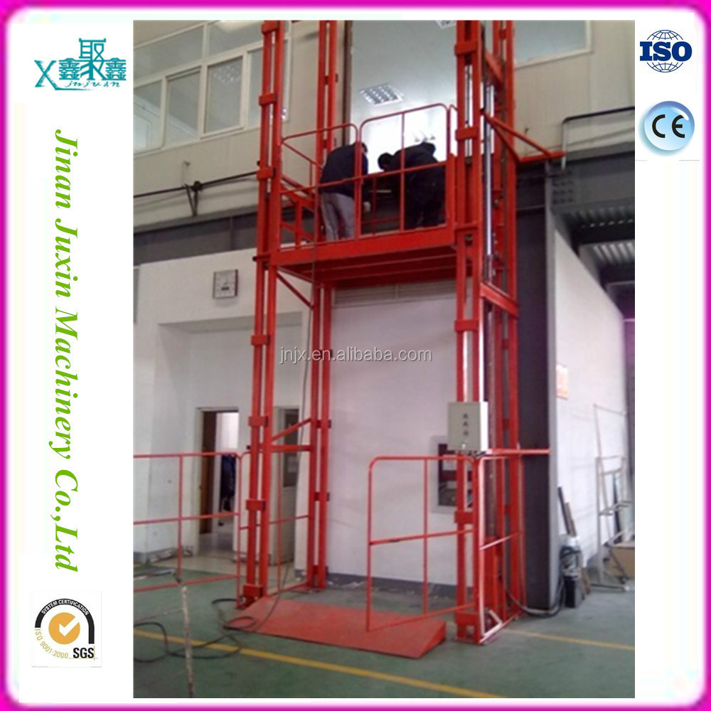 Stationary warehouse car lift platform/ outdoor used cargo elevator lift