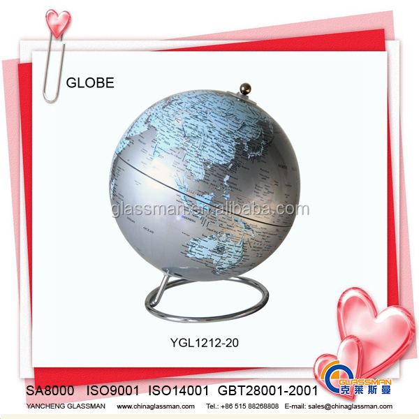 Kunststoff Deskpot Globus Ygl1212 20 Jahrgang Welt Tischplatte