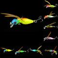 Random Color Hot Sale New Promotions 1 Pcs 8 Color Cicada Baits Fishing Lures Bass Crank