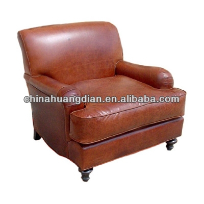 HDL1105 poltrona patchwork leather lounge sofa chair
