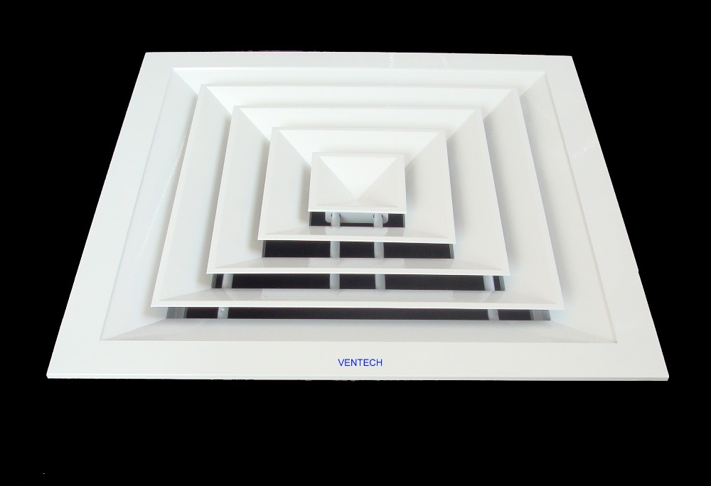 Air Conditioning Diffusers : Air conditioning ceiling diffusers way supply