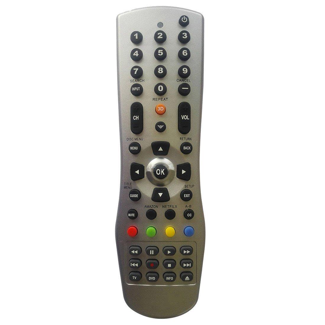 VIZIO Remote Control - SODIAL(R) NEW Vizio Universal Remote For VUR12 XRT112 XRT510 XRU110 VR1 VR2 VR4