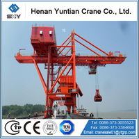 ship to shore container/grab crane